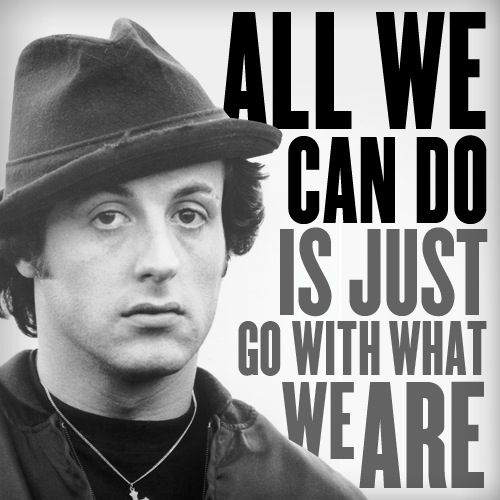 sylvester stallone from rocky quotes quotesgram