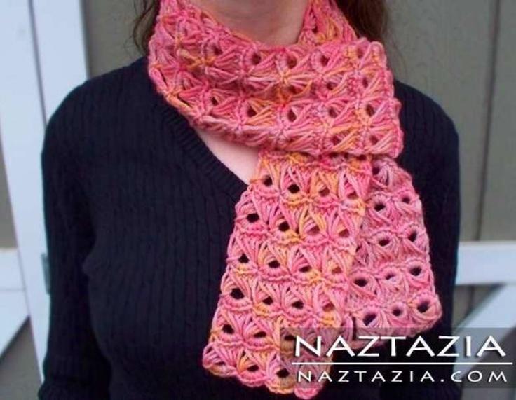 Broomstick Lace scarf crochet pattern Crochet Pinterest