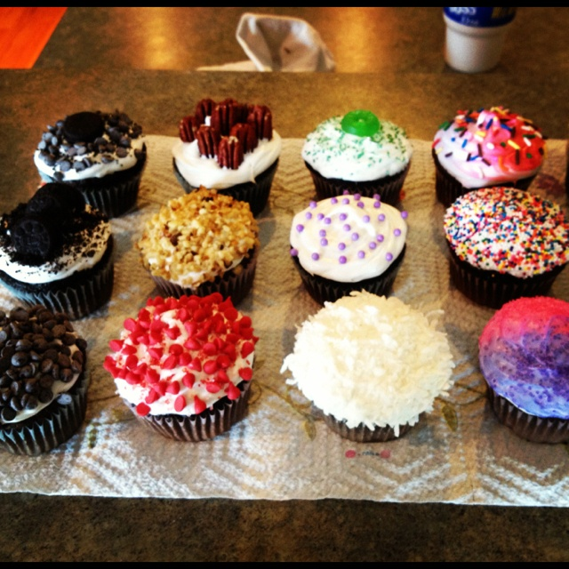 easy birthday cupcake decorations image inspiration of