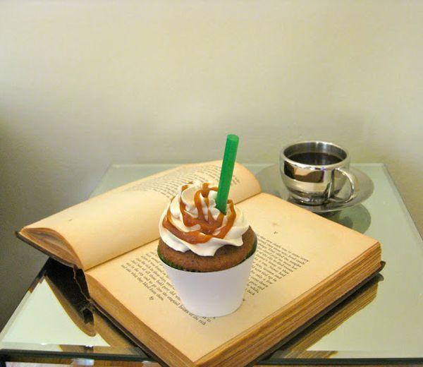 RECEPT. Cupcakes met koffie en caramel | Bakken | Pinterest