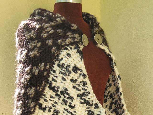 Free Crochet Patterns For Thin Yarn : Anaconda Wrap pattern by Sharon Silverman