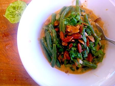 Bihari Green Beans Masala - Vegan | Food Ecetera | Pinterest