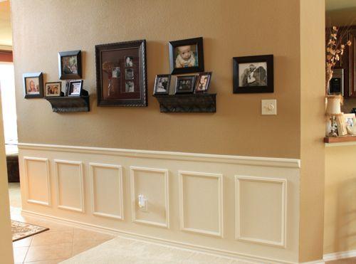 Big empty wall idea living room ideas pinterest for Blank wall space ideas