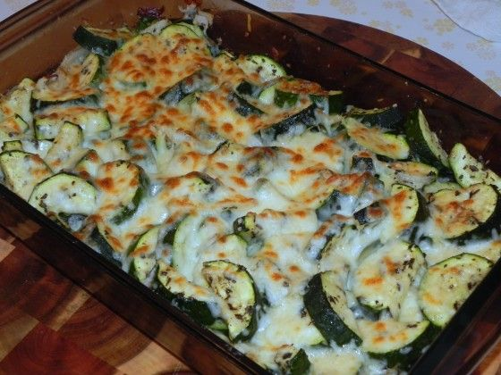 Easy Cheesy Zucchini Bake | The Good Stuff | Pinterest