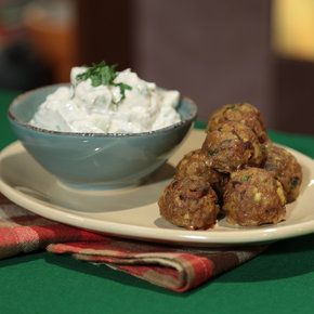 Spiced Lamb Meatballs Daphne Oz, The Chew Could try a combo of ground ...