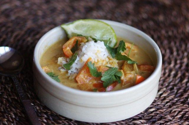 Curried Pumpkin Soup | Food // Dinner ideas | Pinterest