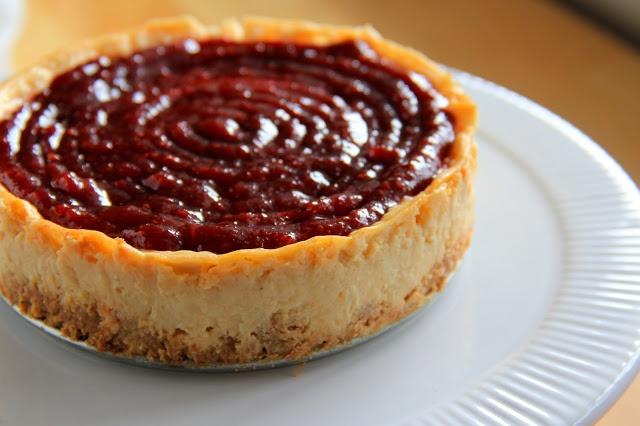 honey greek yogurt cheesecake | Desserts | Pinterest