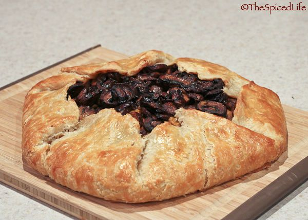 Butternut Squash and Goat Cheese Galette with Caramelized Onions and ...