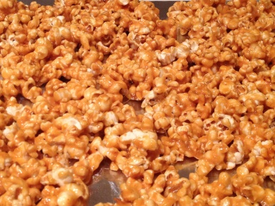 spicy caramel popcorn | Recipes Galore | Pinterest