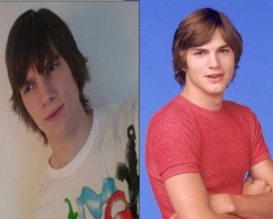 Ashton Kutcher Look A ...