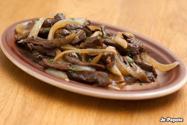 boeuf aux oignons cuisine chinoise plats pinterest