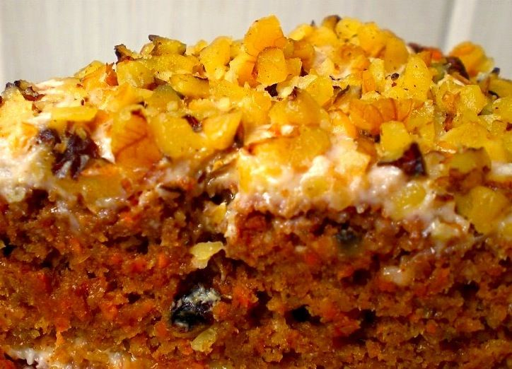 Carrot Cake + Yogurt Glaze | Food And Drink | Pinterest