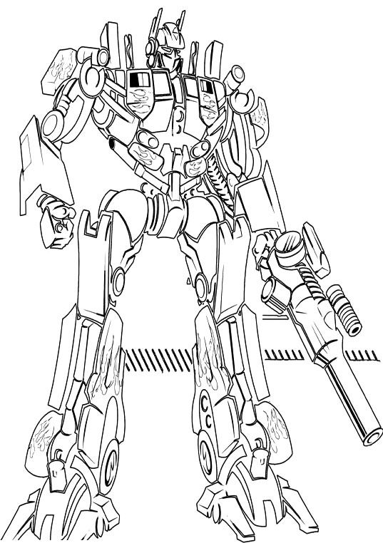 Ironhide transformers coloring pages coloring pages for Transformers sentinel prime coloring pages