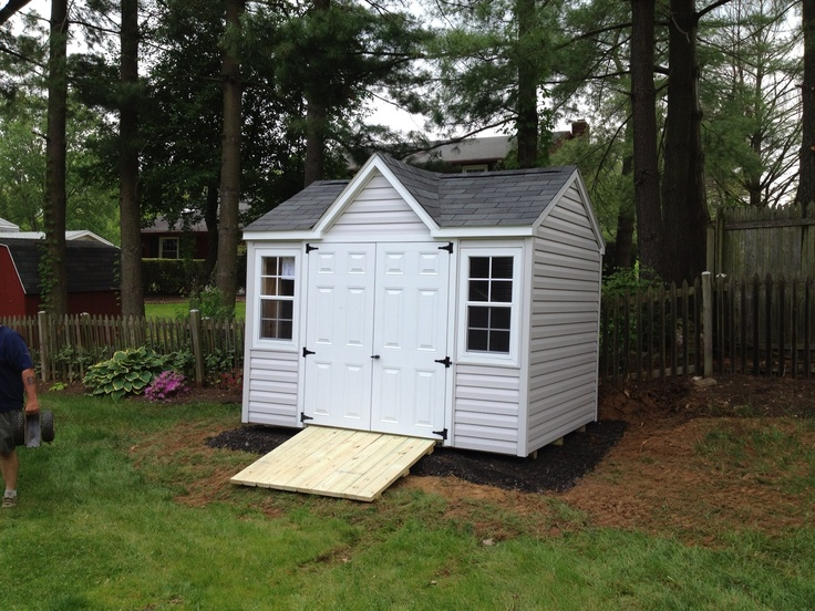 Pin by denise permatteo on green space pinterest for Victorian garden shed designs