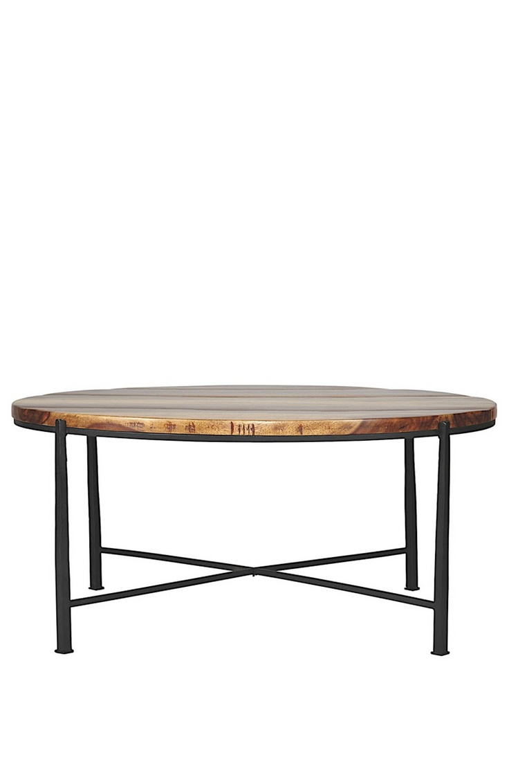 Love The Wood Block Top Coffee Tables