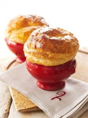 Chicken, mushroom and bacon pie | Recipe