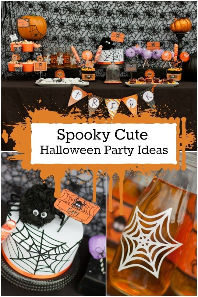 spooky cute halloween party ideas holiday decor pinterest