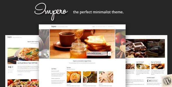 Impero: Minimalistic HTML Theme | Templates | Pinterest