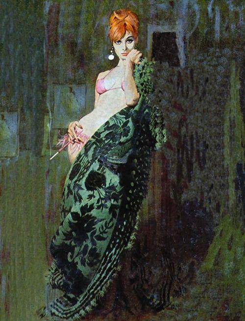 Robert McGinnis...pulp artist