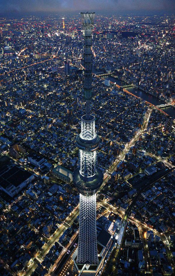 Tokyo Skytree  Lugares Favoritos  Pinterest