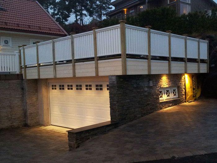 Id e terrasse sur garage terrasse pinterest for Idee terrasse