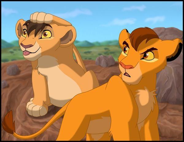 The lion king kopa and kiara - photo#9