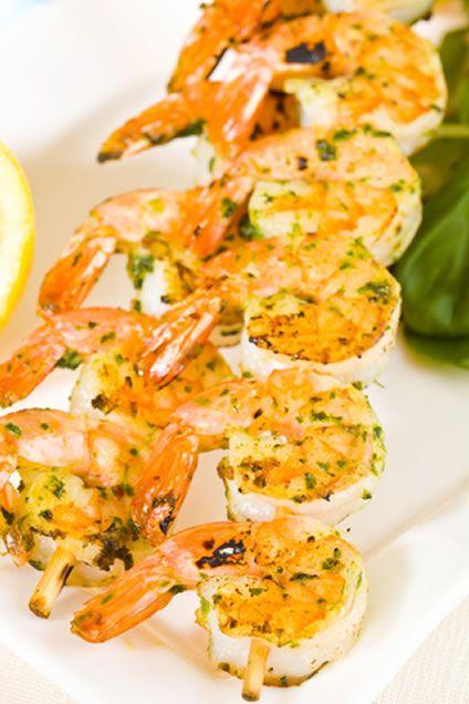 Cilantro Shrimp Skewers | Recipe