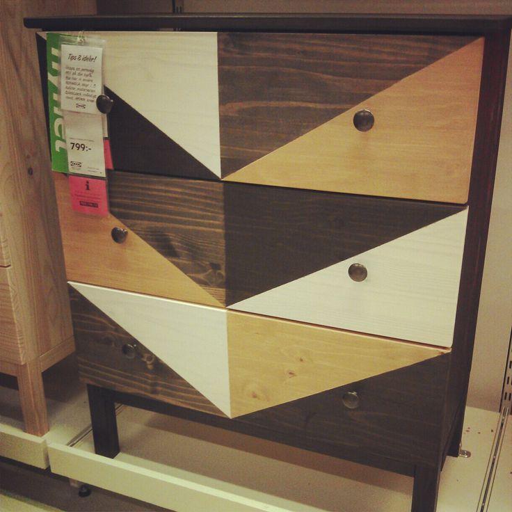 Ikea Diktad Wickelkommode Maße ~ Tarva Nightstand Stained
