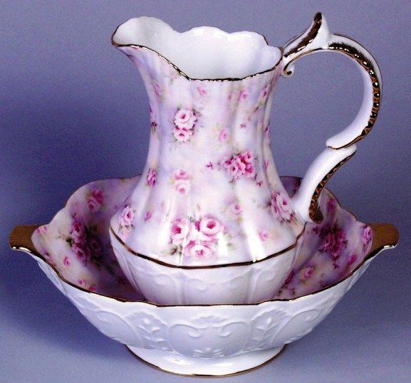 pin by marilyn ledford on bowl and pitcher sets pinterest. Black Bedroom Furniture Sets. Home Design Ideas
