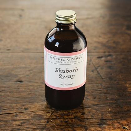 Morris Kitchen rhubarb syrup, $12