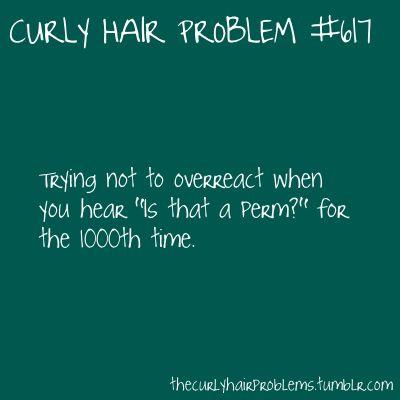 Curly Hair Problem #617