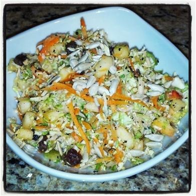 Skinny Eatz - Fall Detox Salad - The Kitchen Table - The Eat-Clean ...