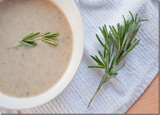 leek soup with leek soup with mushroom and leek soup with thyme cream ...