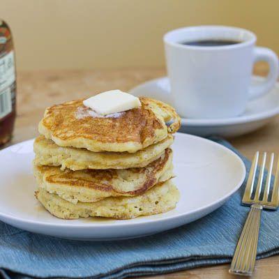 Recipe: Cornmeal Pancakes   Yummy   Pinterest
