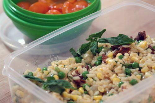How to make risotto in a rice cooker. :) Click the link: http://www ...
