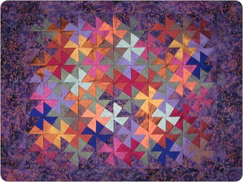 Pinwheel Puzzle Quilt Pattern My Quilt Pattern