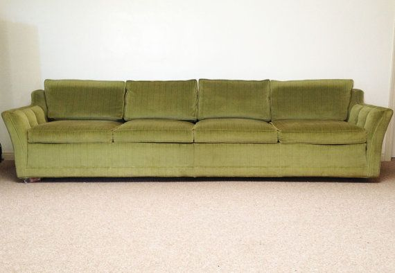 Ft couch mid century modern couch by kaliforniavintage for 8 foot couch