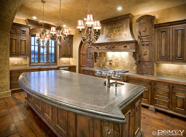 Pin by angela leger on old world med french and tuscan for Old world tuscan kitchen designs