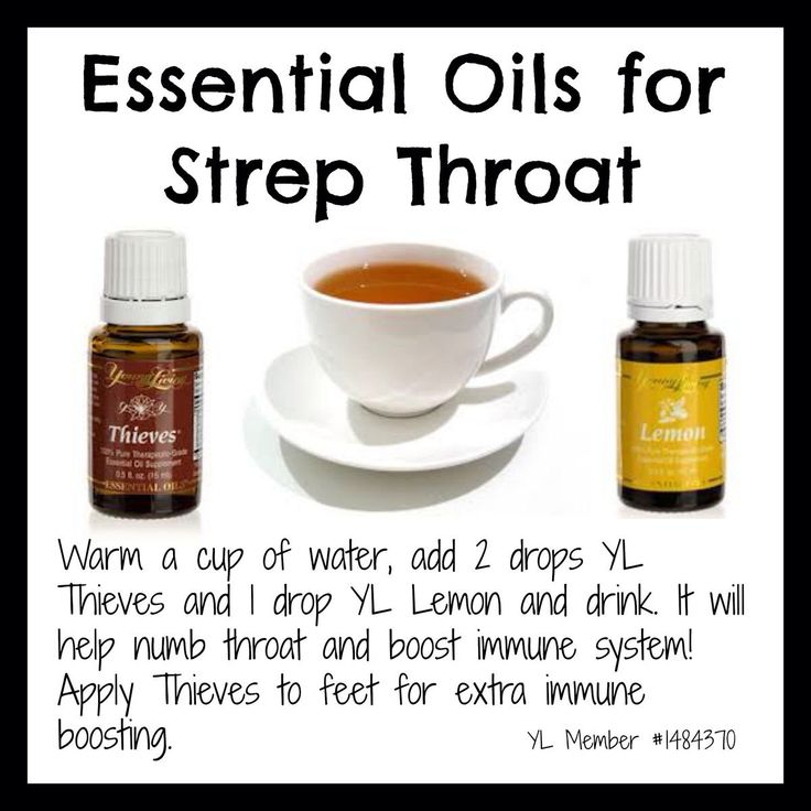 Treating Strep Throat With Essential Oils 31