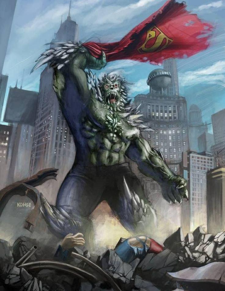 doomsday villains marvel dc pinterest