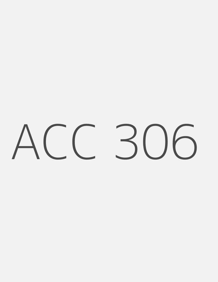 acc 306 week 1