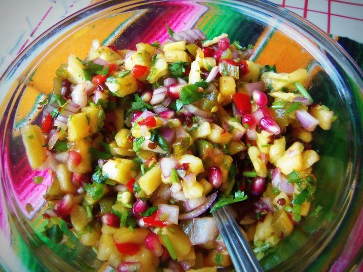 Pineapple Salsa! | Fooooood!! | Pinterest