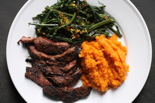 spice-rubbed steak on the grill from America's Test Kitchen is really ...