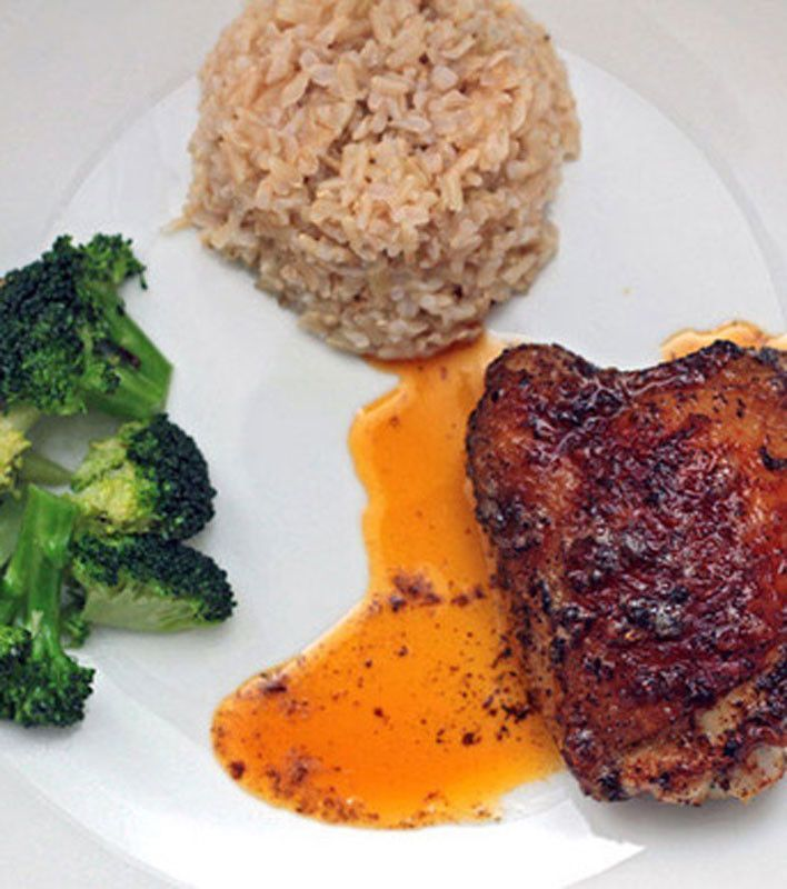 Spiced Chicken with Brown Butter | Diet Food Delivery | Pinterest
