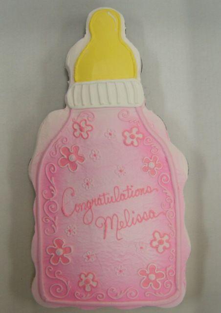 Baby Shower Cupcake Ideas Pinterest : Baby Bottle Cupcake Cakes Pinterest