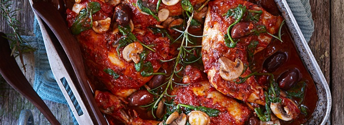 Slow-cooked Chicken Cacciatore Pinned for Kidfolio, the parenting app ...
