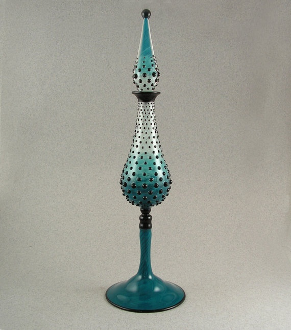 Gradated Hobnail perfume bottle by Evolving Creations