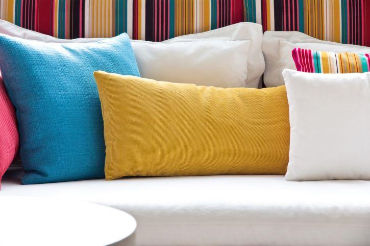 Cojines decorativos para el sof pillows pinterest - Cojines decorativos para sofas ...