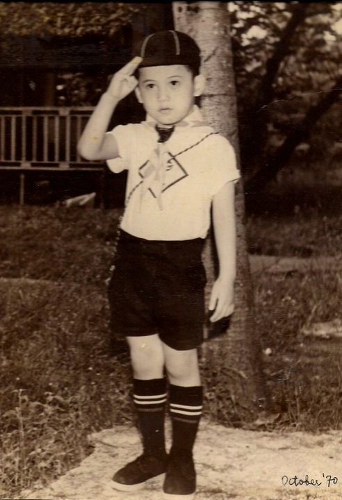 My only uncle (Pengson Clan) Stanley Marvin J. Pengson at 5yrs. old