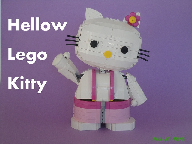 Hello Lego Kitty  Sophia is awesome !  Pinterest